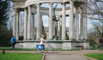 Cardiff takes bike-share to its heart